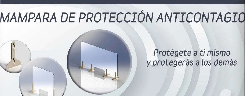 Mamparas protección anticontagio Covid-19